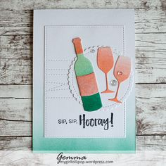 Hello :) Today I'm sharing a card I made for the MFT Sketch Challenge, using their colour challenge colours. I began by blending the challenge colours on to a piece of card. From this ca…
