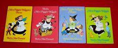 Mrs. Piggle-Wiggle Lot of 4 Chapter Books Betty MacDonald Homeschool Level 3