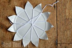Paper Plate Weaving How To Step 4