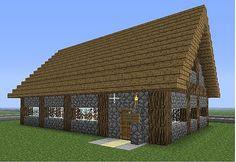 simple standardised minecraft house