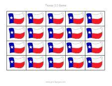 Texas math grid game via   www.pre-kpages.com/texas/