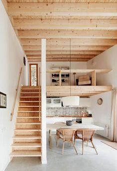 Genius loft stair for tiny house ideas (53)