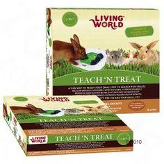 Juguete inteligente para conejos Living World  3 en 1