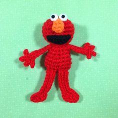 Elmo Doll Knitting Pattern : 1000+ images about AMIGURUMI - Elmo on Pinterest Baby ...
