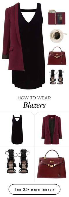 """""""Fall is almost here!"""" by genesis129 on Polyvore featuring Miss Selfridge, Zimmermann, Royce Leather and Hermès"""