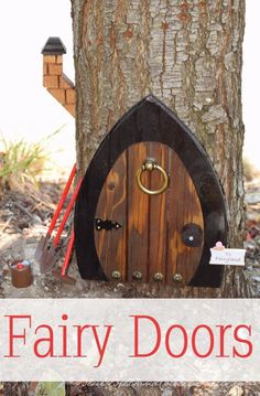 Fairy Doors | From Blue Bells and Cockle Shells