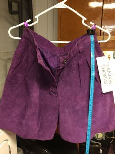 A personal favorite from my Etsy shop https://www.etsy.com/listing/248725230/high-waisted-purple-suede-vintage-short