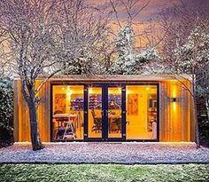 regram @greentinyhouse The Inspiration Garden Room by Green Retreats @greenretreats #tinyhouse #architecture #home #micro #nature #tinyhomes #architect #house #modern #green #tinyhousemovement #cool #future #tiny #design #minimalist #greentinyhouse