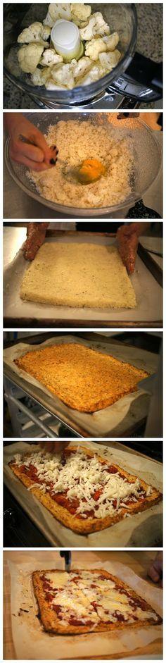 Top Food Center: Cauliflower Pizza Crust