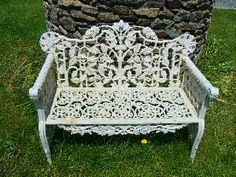 1000 images about banc de jardin ancien on pinterest outdoor flowers teak and garden benches. Black Bedroom Furniture Sets. Home Design Ideas