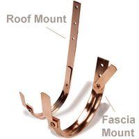 Hanger Copper Roof Fascia Mount Copper Hangers Pvc Gutters Gutters
