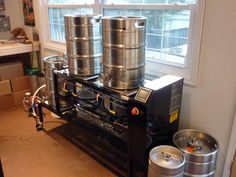 Sabco Homebrew Beer System - This is the first system the Dogfish Head's owner Sam first started brewing on.  This system is still in the back of the Rehobeth Beach brewpub.