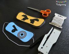 Anniversaire Lego Ninjago masques et accessoires ninja Kai, Zane, Jay, Lloyd, Nya, Cole