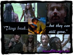 #Richonne was written on the walls from the first moment they met. #TWD