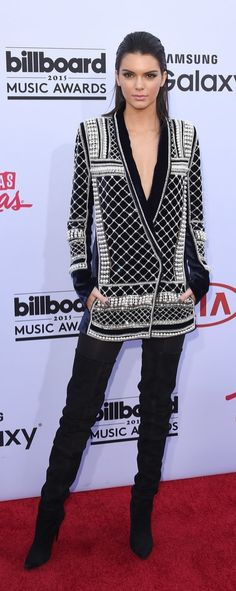 Kendall Jenner help announce H&M's newest collaboration with Balmain.