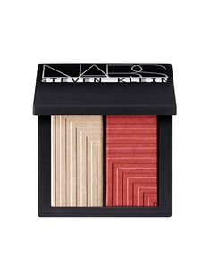Nars Dual-Intensity Blush in Vengeful - A white-gold highlighter and shimmering brick-red blush. #NARS#makeup  #maquillaje
