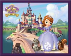 Sofia is the newest Disney Princess. But she is a little different because she is the first preschool princess. She will be debuting in a Disney Junior Channel movie, Sofia the First, on November Sofia The First Birthday Party, Happy Birthday Princess, Sofia Party, First Birthday Parties, First Birthdays, Birthday Ideas, 4th Birthday, Princess Party, Princess Castle