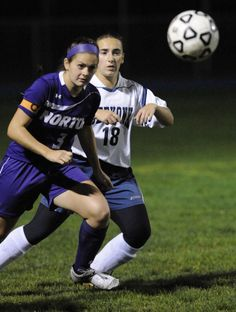 SEEKONK - The Norton High girls' soccer team was a scant six inches, perhaps a foot, away from gaining the equalizer in its MIAA Division 3 South Tournament first-round match Thursday at Connolly Field against the host Seekonk High Warriors.