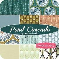 Pond Cascade Fat Quarter BundleJessica Levitt for Windham Fabrics