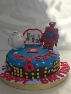 Big hero 6 birthday cake