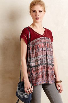 Calabria Swing Top #anthropologie