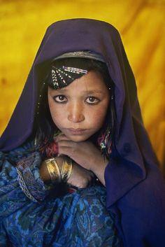 AFGHANISTAN. Band i Amir. 2002. Village Girl.