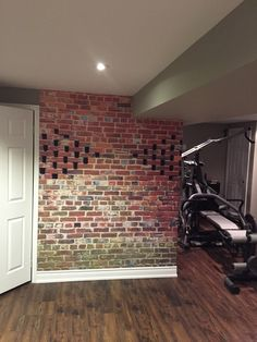 """I wanted to tell you how pleased I am with my wall mural. I originally thought it was blurry and took your advise and realized I was looking at it too close. It looks fantastic in my basement. I am going to get another one made for my son. Thank you. This is an incredible product. ""--Julie (InkShuffle customer)"