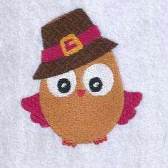 Autumn Owls Design - 97 - lovelyembroidery
