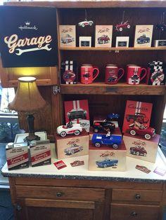 New! Hallmark Garage... Featuring limited edition Kiddie Car Classics.