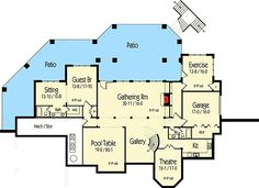 Spectacular Traditional House Plan - 26711GG | Southern, Traditional, Photo Gallery, Premium Collection, 1st Floor Master Suite, Butler Walk-in Pantry, CAD Available, Den-Office-Library-Study, In-Law Suite, Loft, MBR Sitting Area, Media-Game-Home Theater, PDF, Corner Lot, Sloping Lot | Architectural Designs