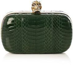 Alexander Mcqueen Water snake moulded clutch on bagservant.co.uk #clutch