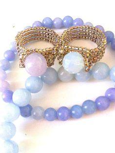 Seed Bead Ring - Boho Rings - Jewelry