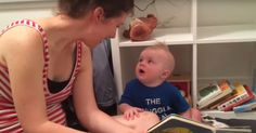 baby doesn't want reading to end