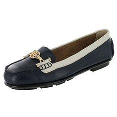 Aerosoles Women's Nuwlywed Loafer,Dark Blue Combination