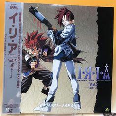 IRIA Zeiram the Animation vol.2 [BEAL-689] LD LaserDisc Laser Disc Japan AA633