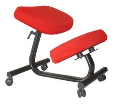Abo Kneeling Chair with memory foam pads( New Model) la estructura permite subir o bajar la altura