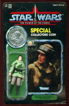Princess Leia Combat Poncho POTF Carded Sample(1985) - Star Wars Collectors Archive