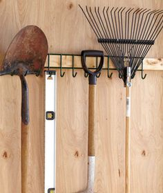 Versatile Tool Racks Could use these racks for so many things, from scarves, belts, ties and purses to kitchen utensils to gardening tools. Lakeside.com single rack-$4.95 double rack-$7.95