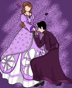 """""""Yes, your Highness"""" by SisterStories.deviantart.com. <--- Cedric and Sofia"""