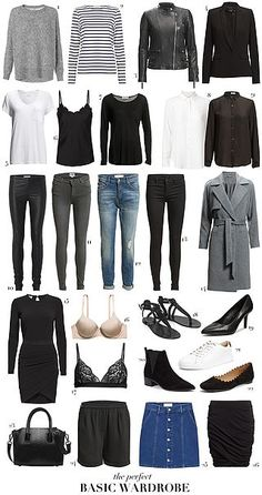 9 pieces 9 outfits   Passions for Fashion   Bloglovin