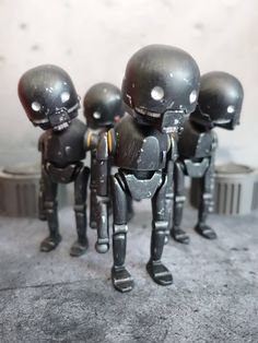 You guys have waited long enough, after months seeing the K-Bot the Bot the Rebel in the making from Carlo Cacho aka Wetworks. Carlo's continues his love for Star Wars with his slight chibi K-2SO resin figure will join the alliance of the rest of the crew. Carlo's has called upon artist Levitzo to bless the cardback art. Comes with a special blister card packaging with the amazing card back art by Levitzo SIZE: 6