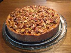 Verrukkelijke notentaart met appel en peer