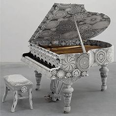 Piano Decorating, Ancient Craft in Contemporary Style