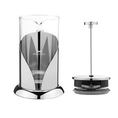 ANGELICA Stainless-Steel French Style Coffee & Tea Press by Sofia's Treasures