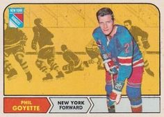 1968-69 O-Pee-Chee #73 Phil Goyette Front