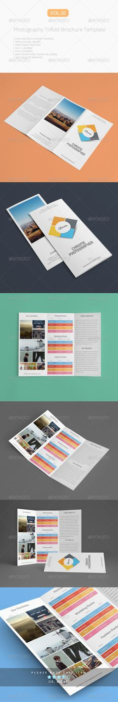 Trifold Business Conference Brochure Template  Brochure Template
