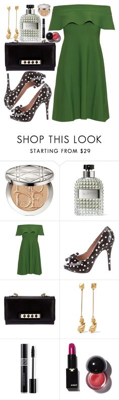 """""""Valentino"""" by colierollers ❤ liked on Polyvore featuring Christian Dior, Valentino and RED Valentino"""