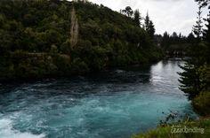 huka falls #nueva zelanda. Día 3 de nuestra ruta por Nueva Zelanda