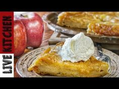 YouTube Kitchen Living, Easy Desserts, Food Videos, Camembert Cheese, Tart, French Toast, Treats, Cookies, Breakfast