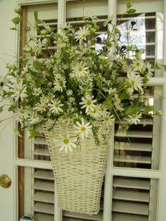 For Spring! Front or side door; find that basket!
